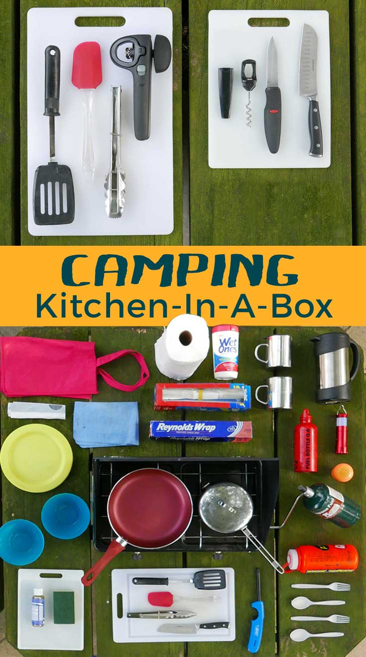 Gear List: Camping kitchen in a box