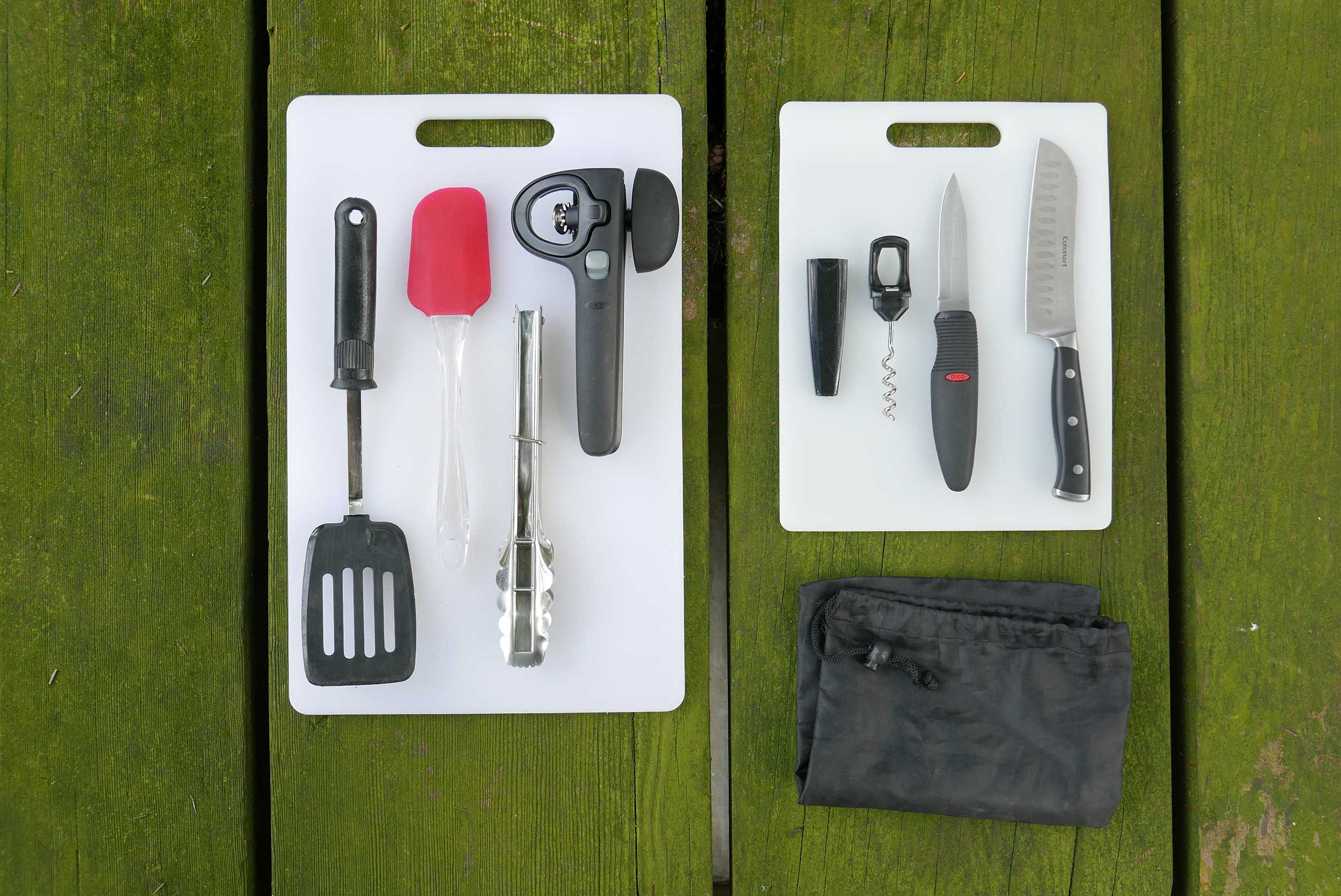 Cooking tools for car camping