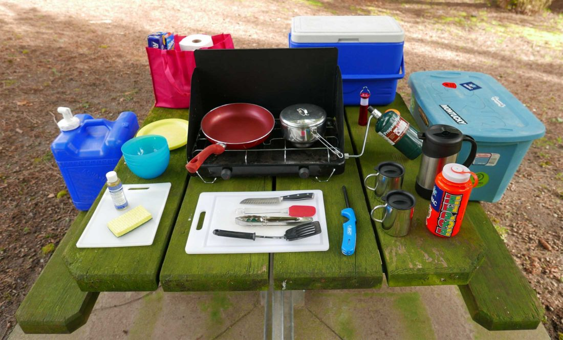 How to build your camp kitchen in a box