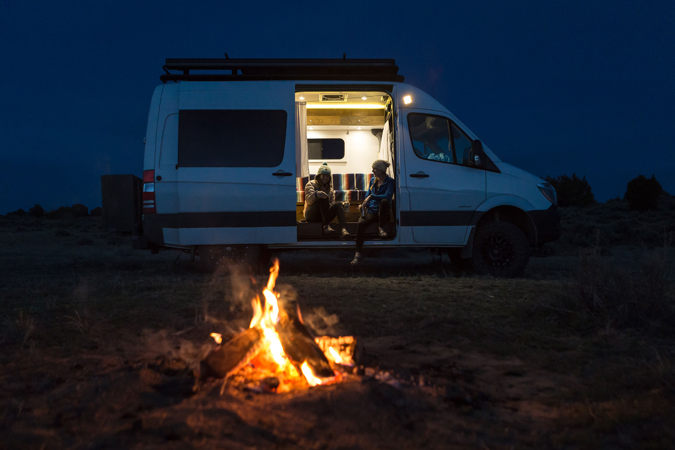 vanlife and camping