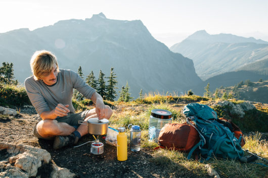 backpacking kitchen gear list header
