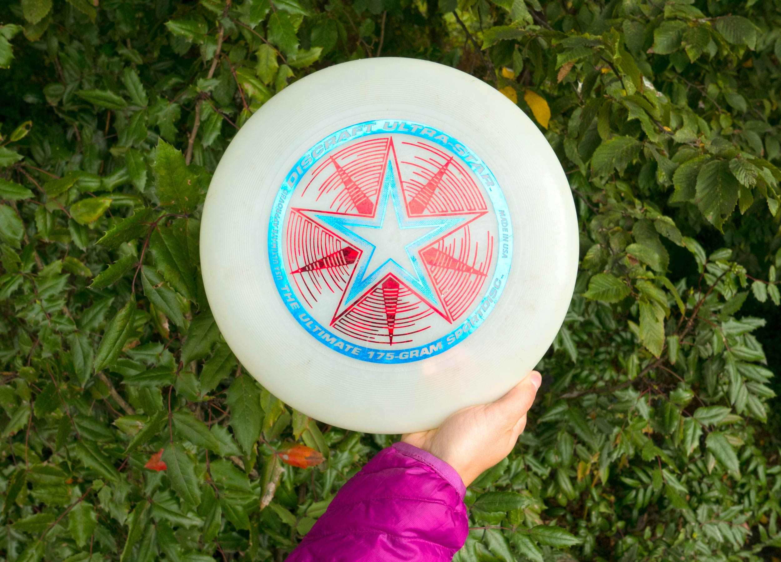 glow in the dark frisbee for camping
