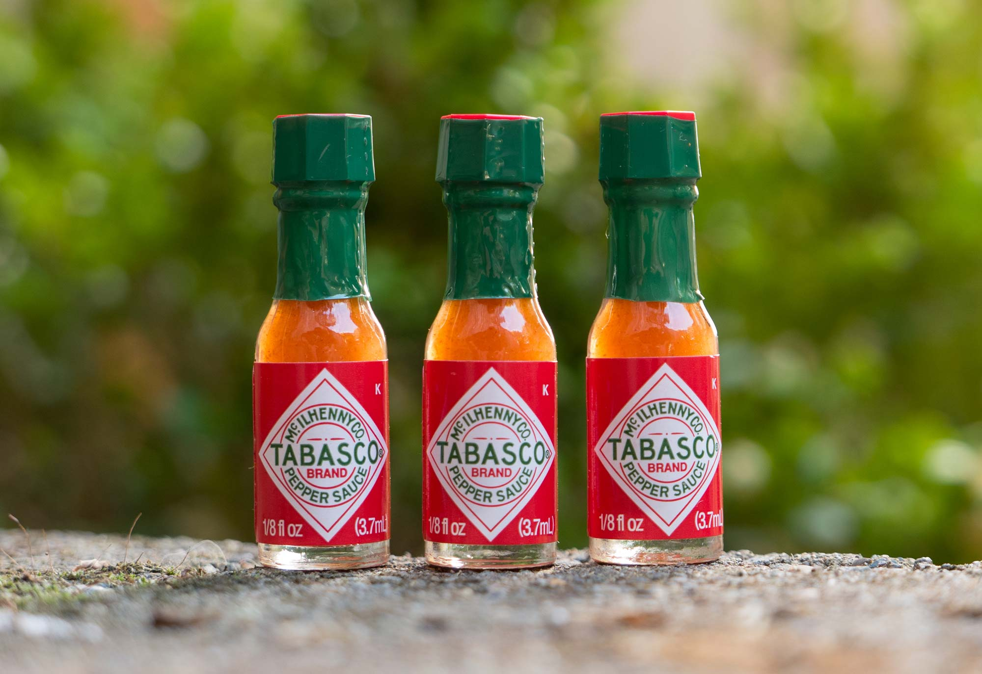 Great gift for campers under $25: Mini Tabasco Sauce