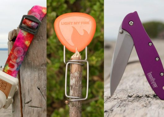 gift and stocking stuffer ideas for campers and backpackers