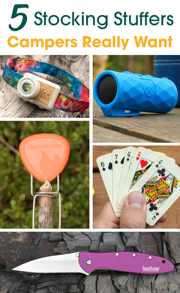5 Stocking Stuffer Ideas for camping